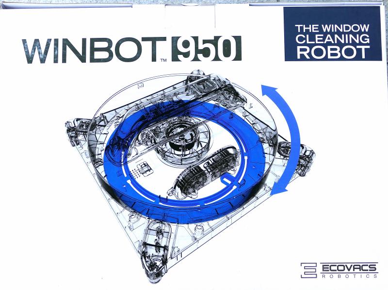 Robot Lavavetri Winbot.Ecovacs Winbot 950